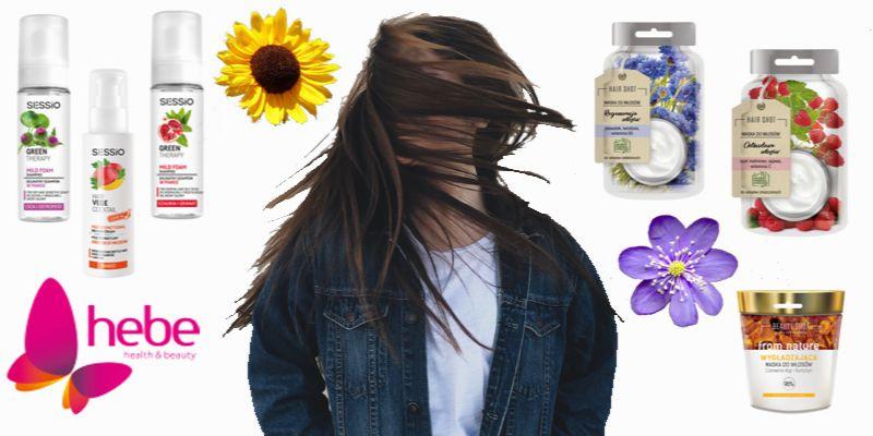 nowości do włosów z Hebe