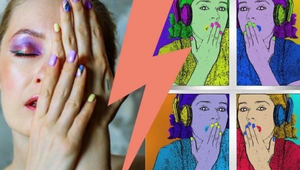 Paznokcie pop art – niesamowite pomysły na oryginalny manicure nawiązujący do symboli kultury masowej