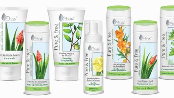 Naturalny demakijaż z kosmetykami AVA Pure & Free – pierwszy krok w codziennej pielęgnacji