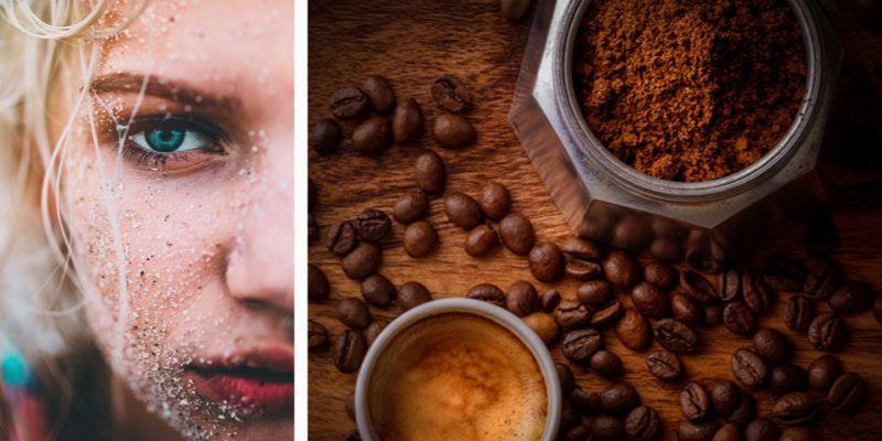 jak zrobić peeling z kawy