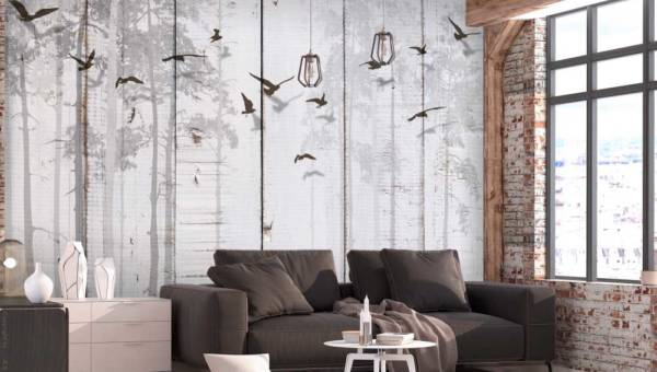 Podniebne dekoracje – fototapety i plakaty z ptakami